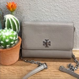 Tory Burch Mercer Chain Wallet Crossbody Bag